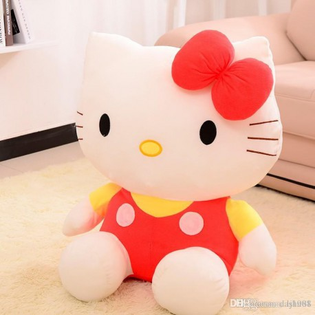 Peluche enfant hello kitty