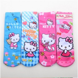Lots de 4 Chaussette de noel hello kitty 2017