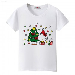 Tee shirt noel Hello Kitty funny et chic