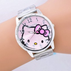 Montre Hello kitty en 3 coloris