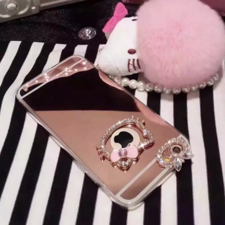 Coque Hello Kitty tous Iphone silver rose luxe