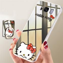Coque Miroir LUXE Samsung Galaxie S8 et S8plus Hello Kitty