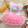 Robe princesse Hello Kitty de 2 à 7 ans