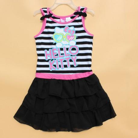 Jupe été mignonne Hello Kitty pour fille de 2 à 7 ans