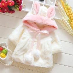 Blouson hiver ultra doux pour bébé de 6 à 24 mois
