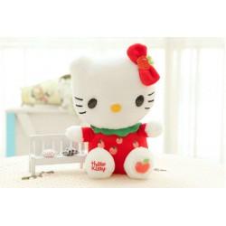 Peluche mignonne Hello Kitty 4 couleurs de 30 cm