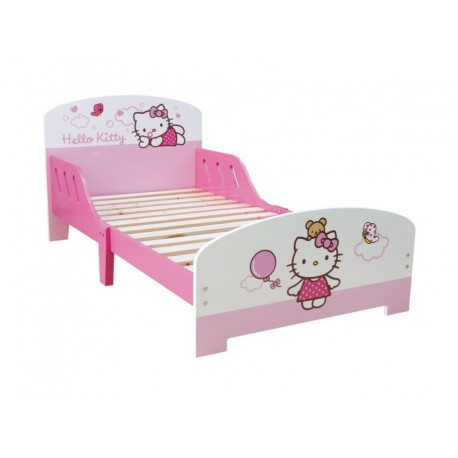 lit hello kitty de qualit pour enfant a partir de 2 ans pas cher. Black Bedroom Furniture Sets. Home Design Ideas