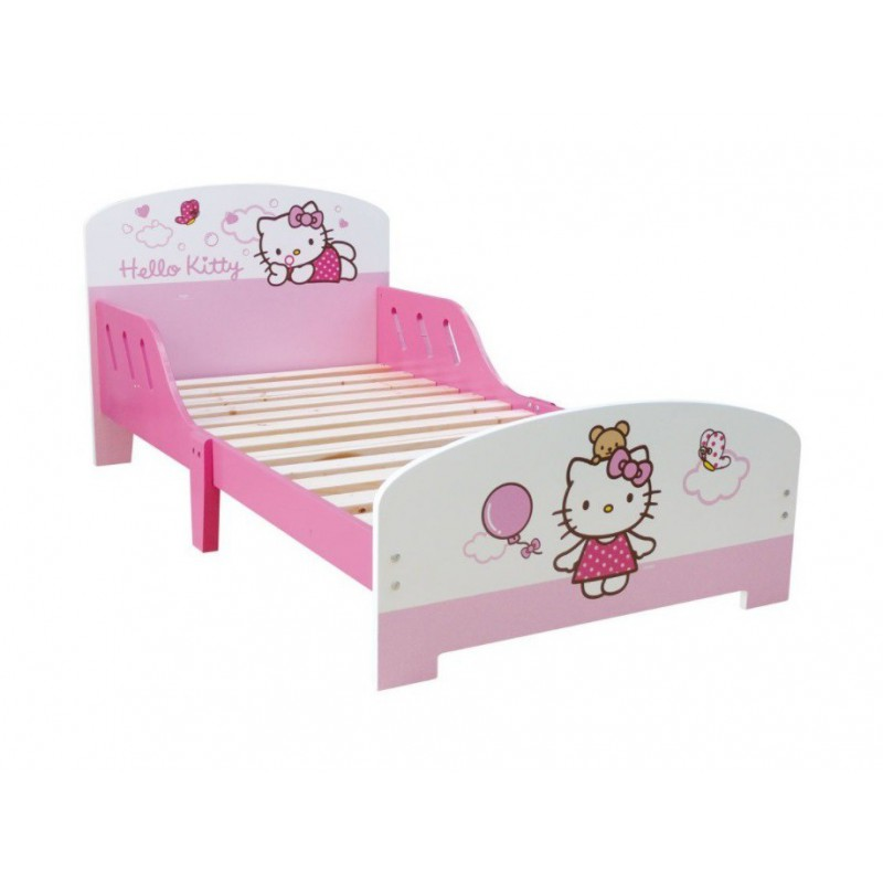 lit hello kitty de qualit pour enfant a partir de 2 ans. Black Bedroom Furniture Sets. Home Design Ideas