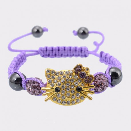 Bracelet Hello Kitty pour femme et enfant