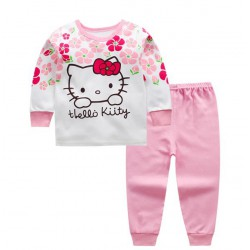 Ensemble survêtement avec  tee shirt Hello Kitty 1 à 4 ans