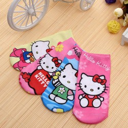 Chaussettes fun hello kitty