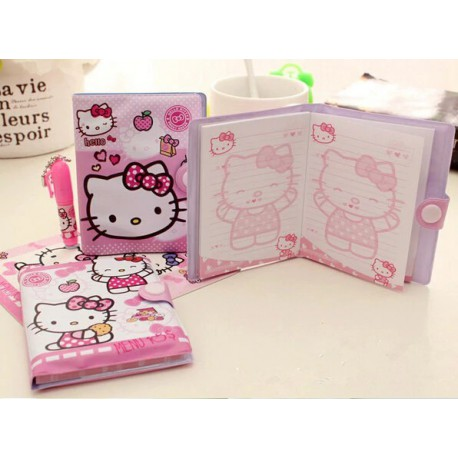 Agenda + Crayon Hello Kitty