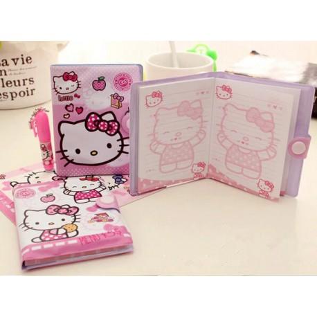Agenda + Crayon Hello Kitty