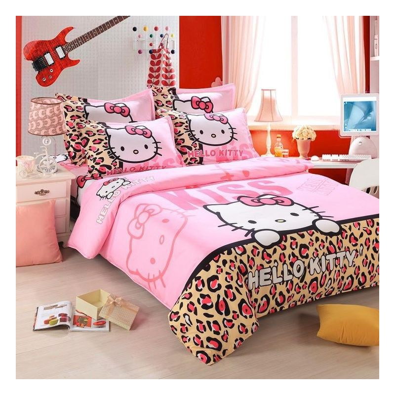 Darp house hello kitty housse couette fille taie - Drap housse 70x140 hello kitty ...
