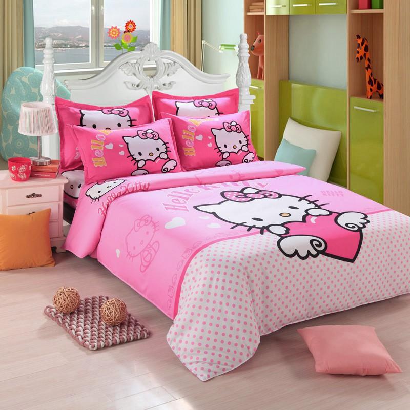Literie Hello Kitty Literies Femme Et Enfants Pas Cher