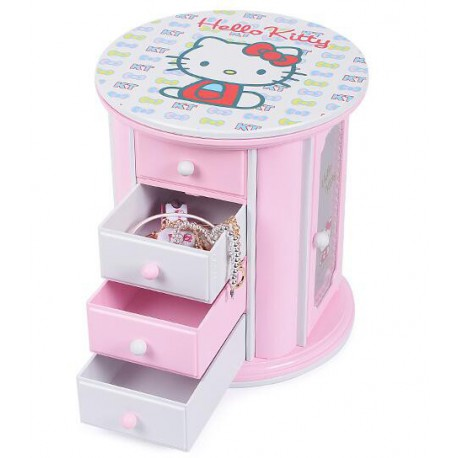 Boite à musique et bijou Hello Kitty