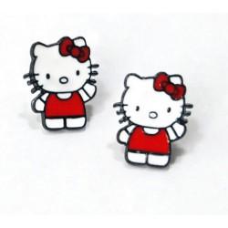 Boucle d'oreille Hello Kitty trop mimi