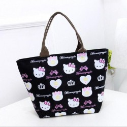 Sac Hello Kitty noir, bleu, rose ou violet