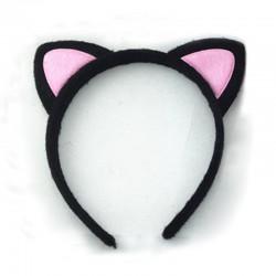 Serre Tête oreille Hello Kitty noir