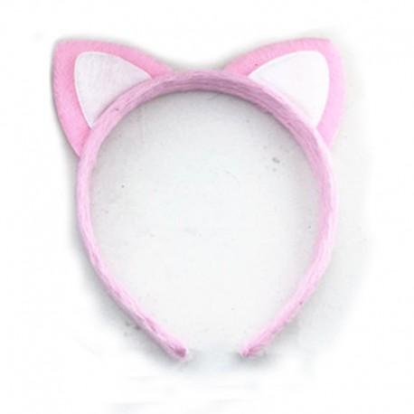 serre tête oreille hello kitty blanc