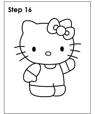 Comment Dessiner Hello Kitty Etape Par Etape Boutique Hello